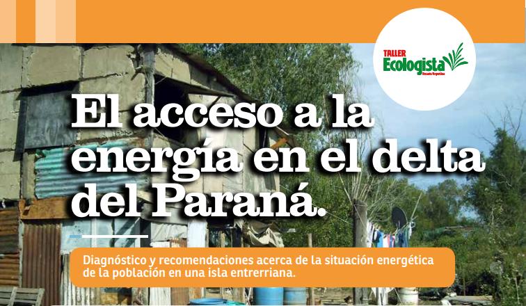 El acceso a la energía en el Delta del Paraná