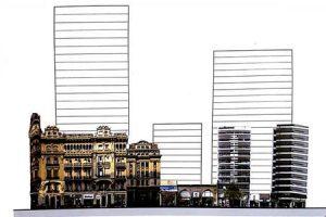 Gran preocupación por megaproyecto de tres torres en el microcentro de Rosario