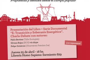 """Presentación del libro """"Soberanía energética"""""""