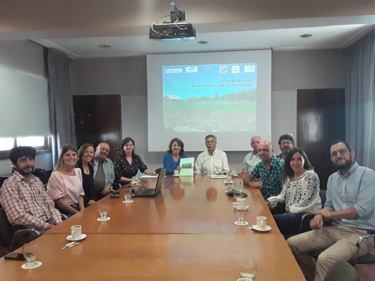 """Organizaciones presentaron a la Municipalidad Plan de Manejo de la Reserva """"Los tres Cerros"""""""