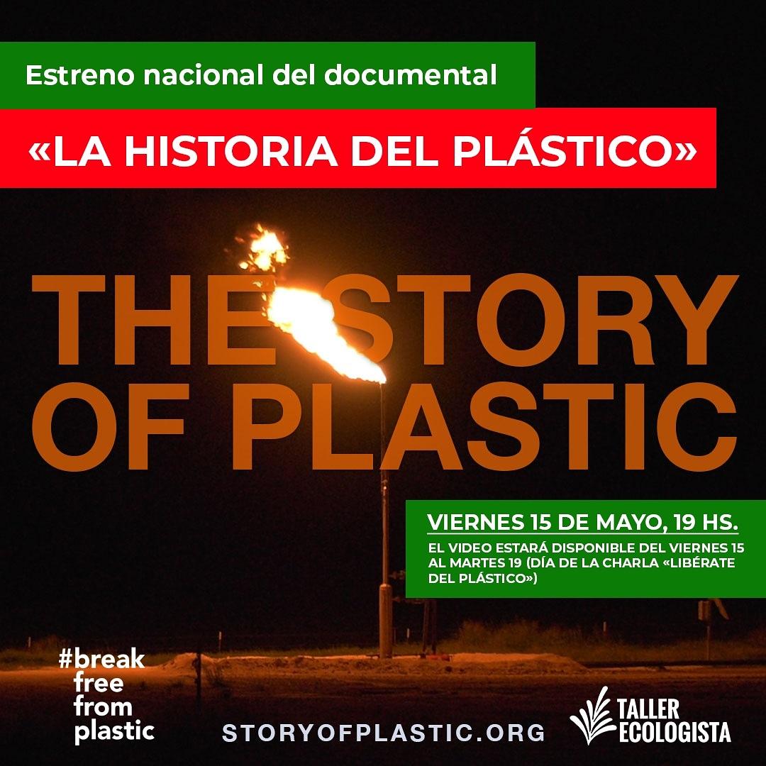 "Se estrenó el documental ""La Historia del Plástico"""