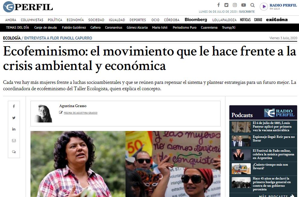 Ecofeminismo: el movimiento que le hace frente a la crisis ambiental y económica