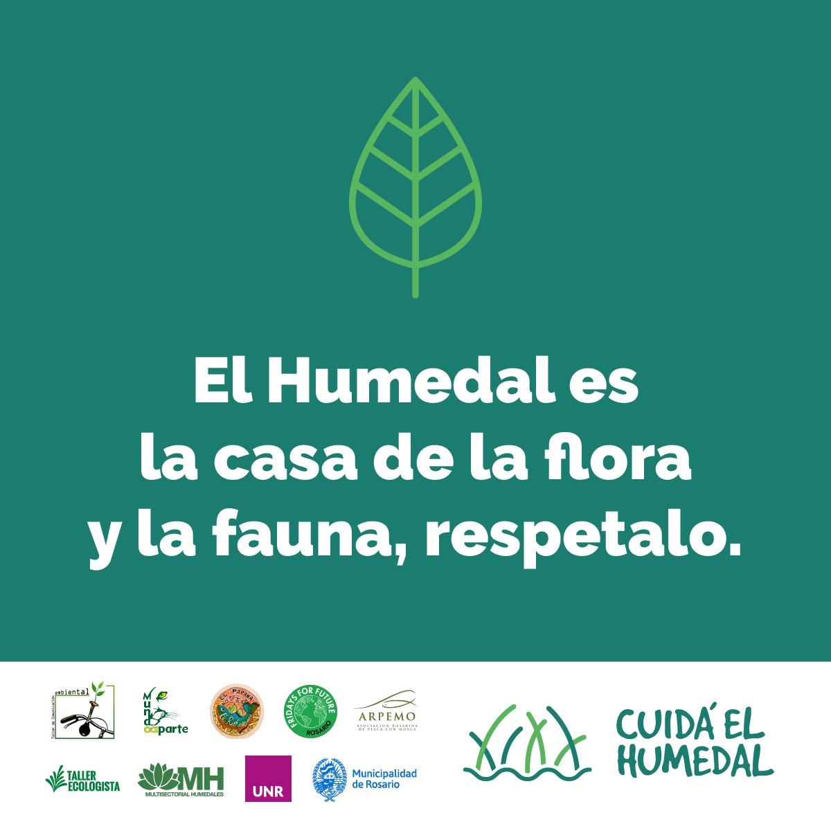 """Sumate a la Campaña """"Cuidá el Humedal"""""""