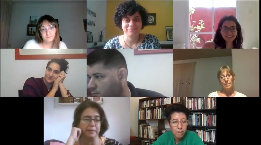"""Ofrecimos un taller sobre ecofeminismo en el marco de la muestra """"Fugas"""""""
