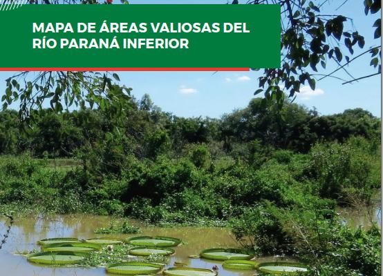 Mapa de Áreas Valiosas del Paraná Inferior